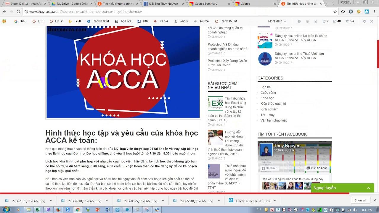 Học online cùng cô Thủy ACCA - Continuous Professional Development