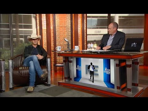 Country Music Artist Justin Moore Joins The RE Show in Studio - 9/14/15
