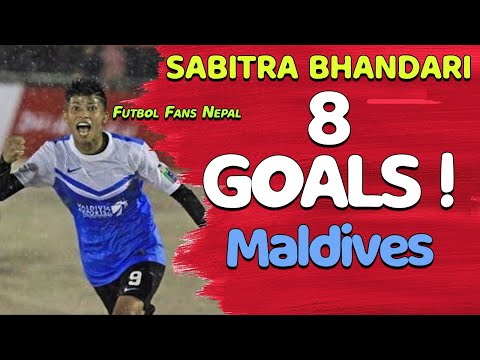 Sabitra Bhandari 8 Goals Against Team MED Club Maldives Futsal