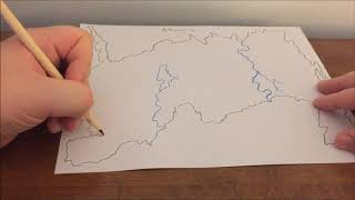 [ASMR] Map Drawing (Game of Thrones)