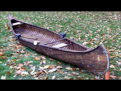 Old Town Canoe Repair v Part 1
