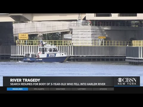 Search Continues For Boy Who Fell In Water Off Randall's Island