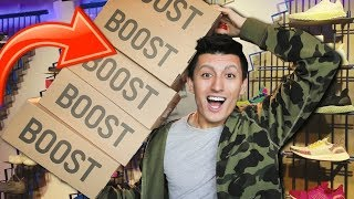 I Bought YEEZYS From EVERY Store at the MALL!