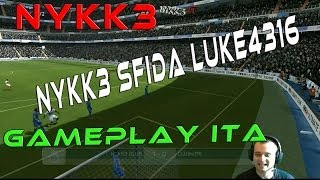 Fifa 14 - Gameplay Ita HD - NYKK3 Sfida Luke4316
