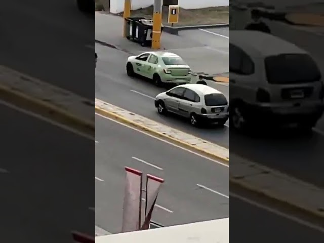 Intentan robar en plena Av. Colón