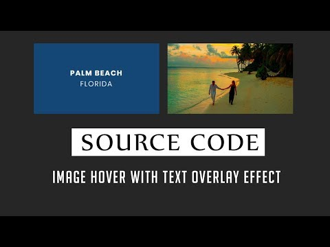 Image hover with text Overlay Effect ( Source Code )