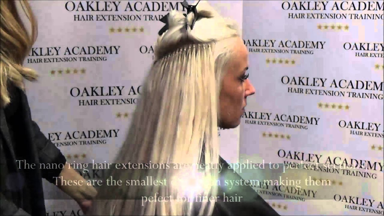 Nano ring hair extension training youtube pmusecretfo Gallery