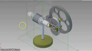 Julius De Waal Rhombic Stirling engine
