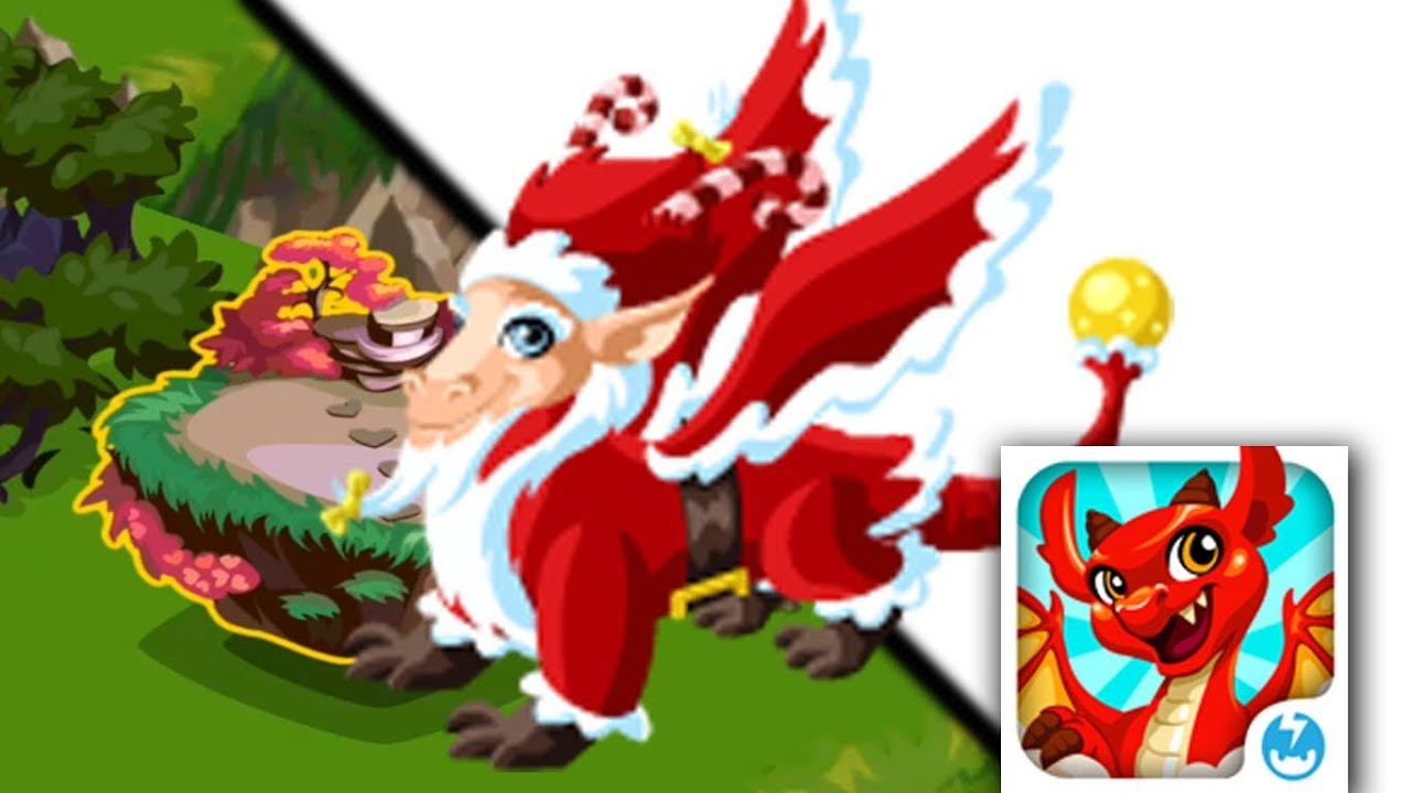 How to breed Santa Dragon in Dragon Story! [Christmas Dragon ...