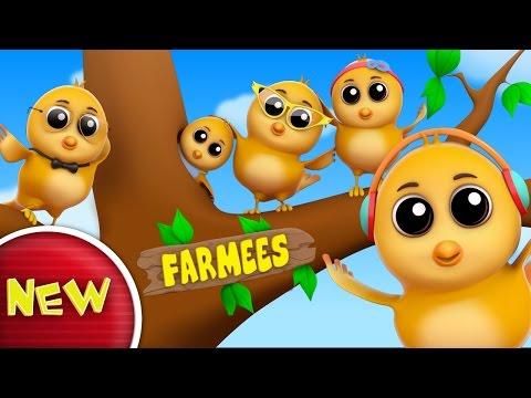 Sparrow Finger Family | Nursery Rhymes | Kids Songs | Baby Rhymes by Farmees