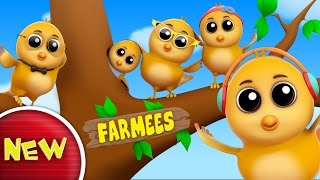 Sparrow Finger Family | Nursery Rhymes | Kids Songs | Baby Rhymes by Farmees S02E80