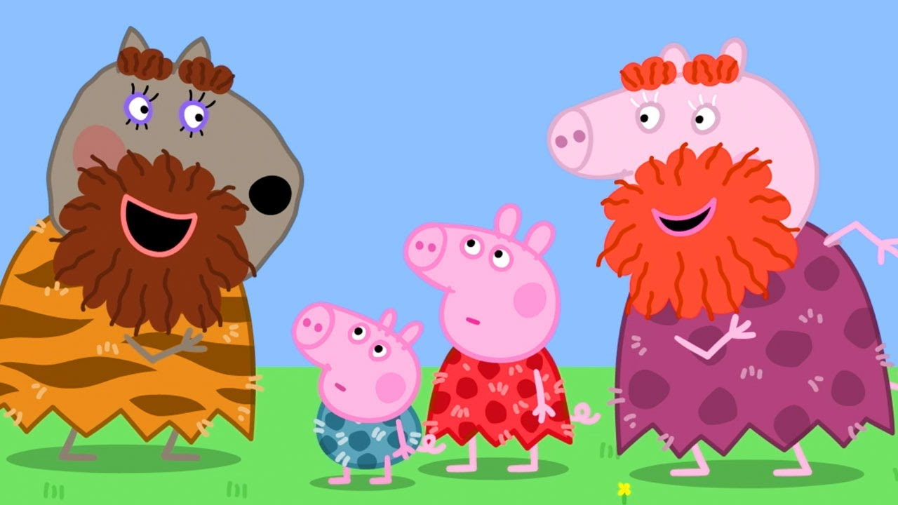 Download Peppa Pig Official Channel | Halloween Dressup - Stone Age Granny Pig and Peppa Pig