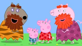 Peppa Pig Official Channel  Halloween Dressup - Stone Age Granny Pig and Peppa Pig