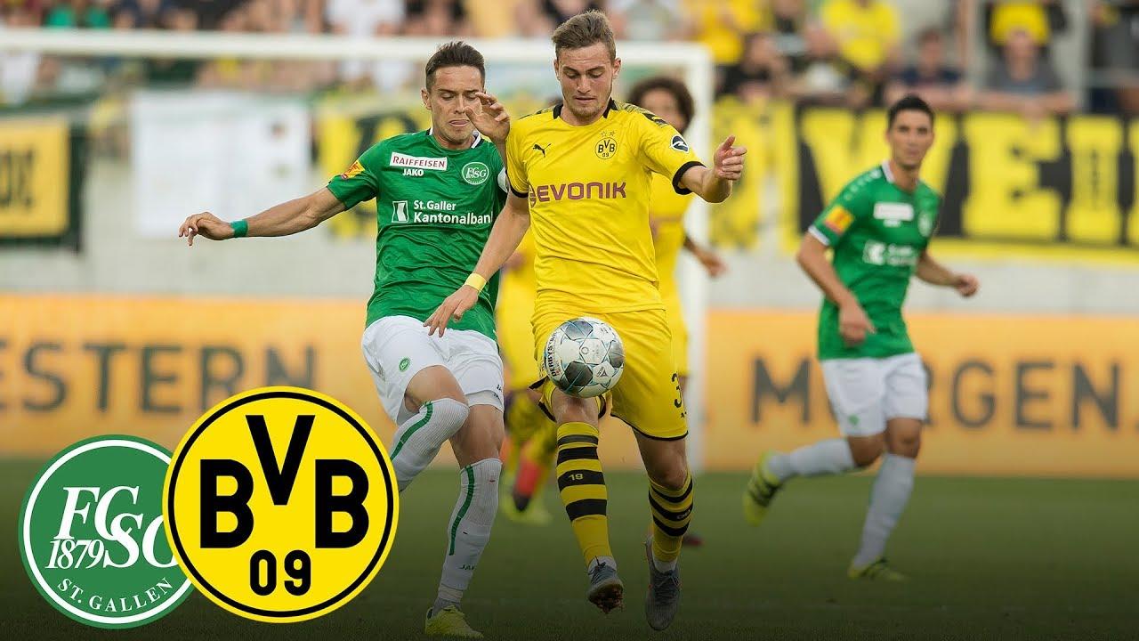 Erfolgreiche Supercup-Generalprobe | FC St. Gallen - BVB | Highlights