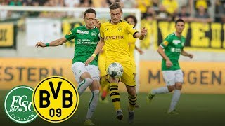 With confidence into the Supercup | FC St. Gallen - BVB | Highlights