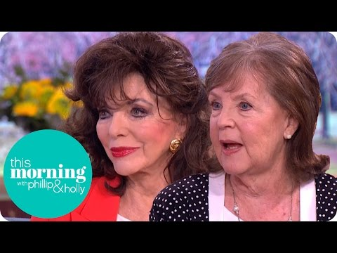 Joan and Pauline Collins on Their New Film The Time of Their Lives | This Morning