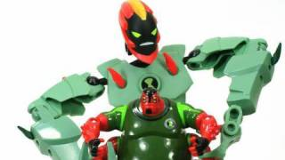 LEGO Ben 10 Swampfire Alien Force Toys Review HD Unboxing