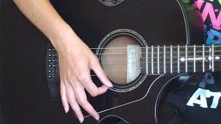 №6. Бой на гитаре для начинающих. Как играть боем на гитаре. Уроки игры на гитаре