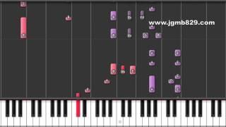 BoA - Disturbance (Piano)