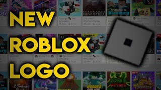 THE NEW ROBLOX LOGO....
