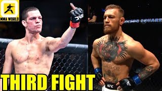 UFC is hoping Nate Diaz beats Pettis so that they can make Conor McGregor-Nate Diaz 3,khabib trains