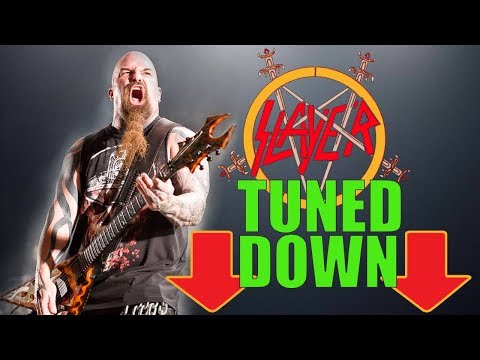 What If Slayer Tuned Down?! Slayer Riffs Played in A Standard Jamie Oldfield