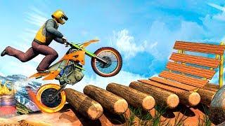 Ramp Bike Stunts Game #Best Android Gameplay fhd #Bike Games