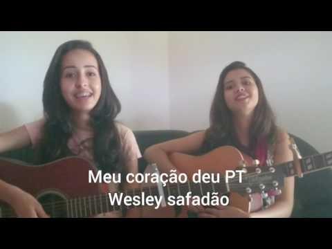 Meu coração deu PT _Wesley Safadão (cover) Tânia e Valéria