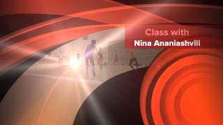 Class with Nina Ananiashvili