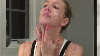 Evening Anti-Aging Skincare Routine for Mature Skin ~ Retin A, AHA, Antioxidants