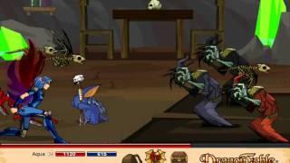 let s play dragon fable pt 85 zorbak s legion lieutenant nana
