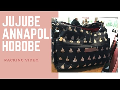 JuJuBe Annapolis Hobobe Packing Video