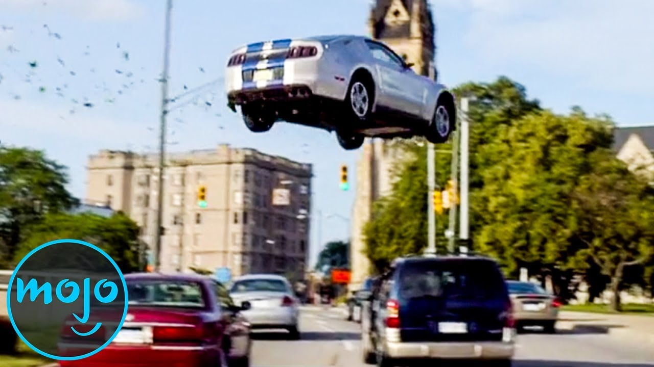 Car Stunts: Top 10 Craziest Car Stunts In Movies