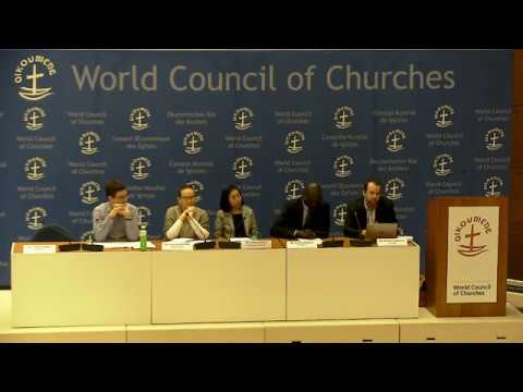 Live from the World Council of Churches: Debriefing COP23 from Faith and Ethical Perspectives