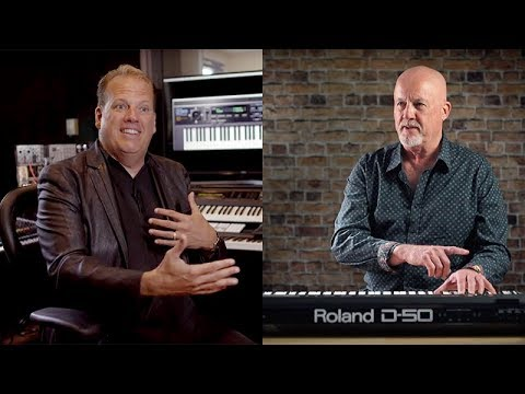 Roland D-50 Celebration Moments with Adrian Scott and Eric Persing