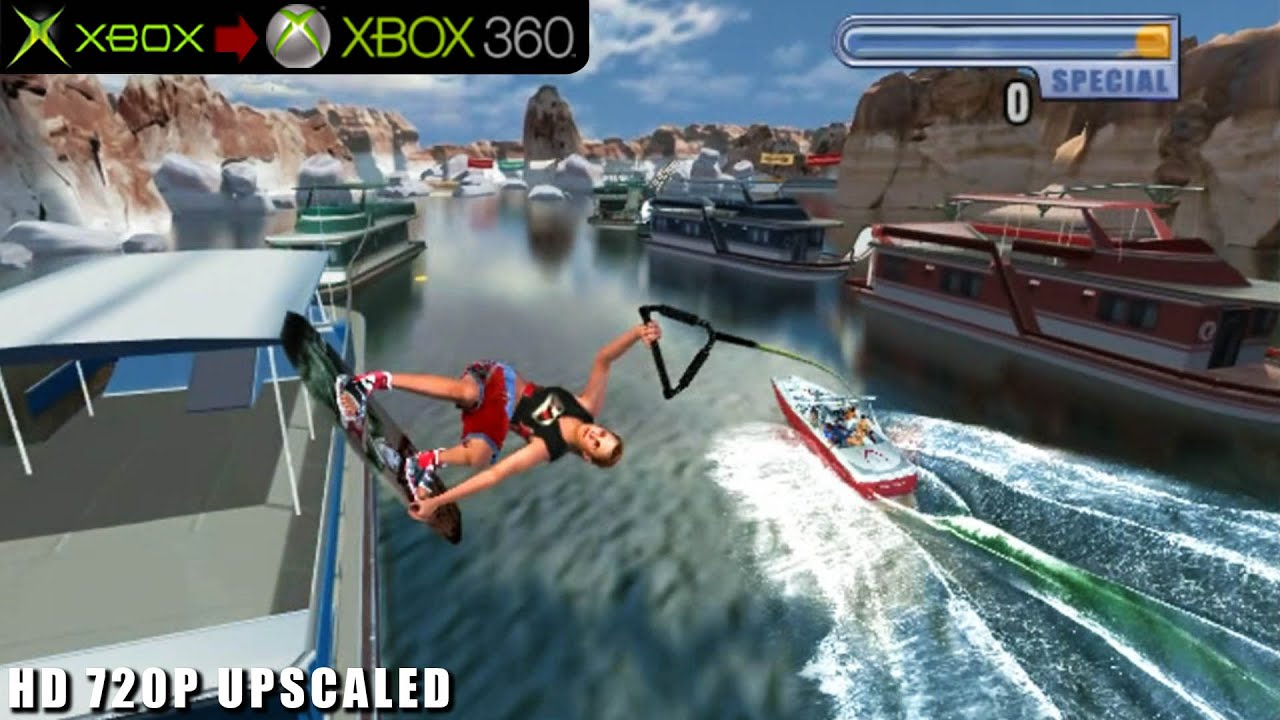 Wakeboarding Unleashed: Featuring Shaun Murray – Gameplay Xbox HD 720P (Xbox to Xbox 360)