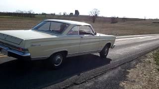 1965 Mercury Comet Burnout