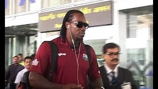 West Indies players arrive in Kolkata for Test ODI series