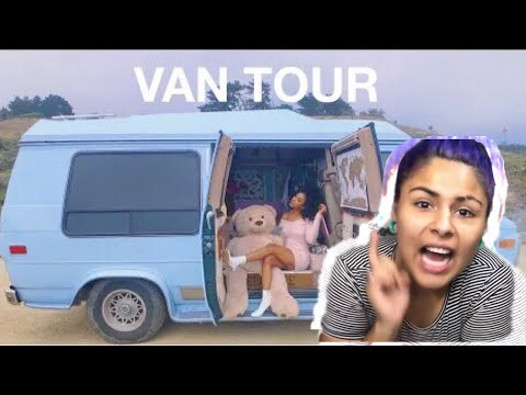 How?VAN TOUR| SOLO FEMALE TRAVELER lives VAN LIFE with PET SNAKE!Hit OVER 1M ||Get Motivated With Me