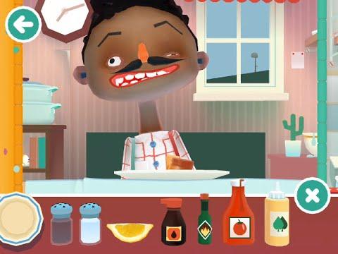 Merveilleux Toca Boca Kitchen 2 Man Being Sick