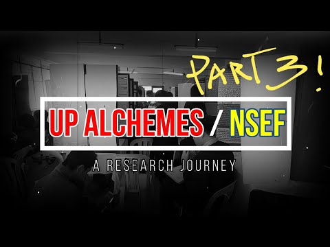 Road to UP/NSEF - A Research Journey - Part 3 - NSEF Shenanigans from YouTube · Duration:  11 minutes 42 seconds