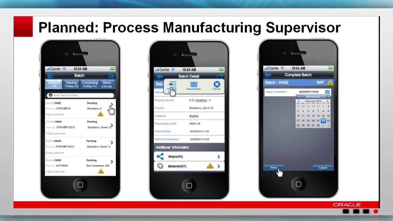Oracle E-Business Suite: Manufacturing - Product Update, Strategy and  Roadmap