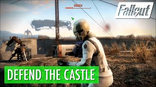 Fallout 4 - Defend the Castle (Minutemen Quest)
