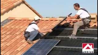 Ubbink in-dak montage systeem zonnepanelen