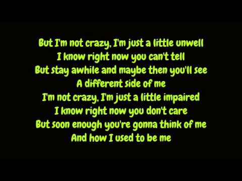 Matchbox Twenty - Unwell (Lyrics HD)