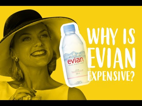 Why Is Evian Expensive? (Also Video Updates)