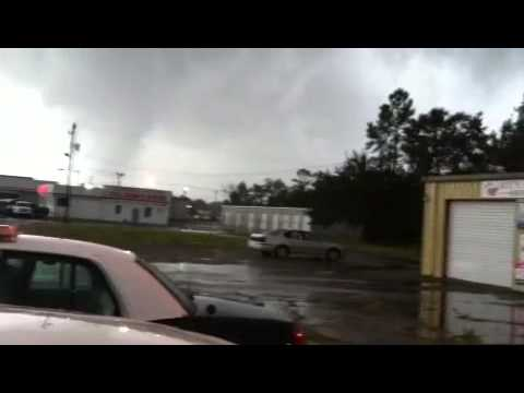 My Edited Tornado during Hurricane Isaac in Pascagoula Mississippi