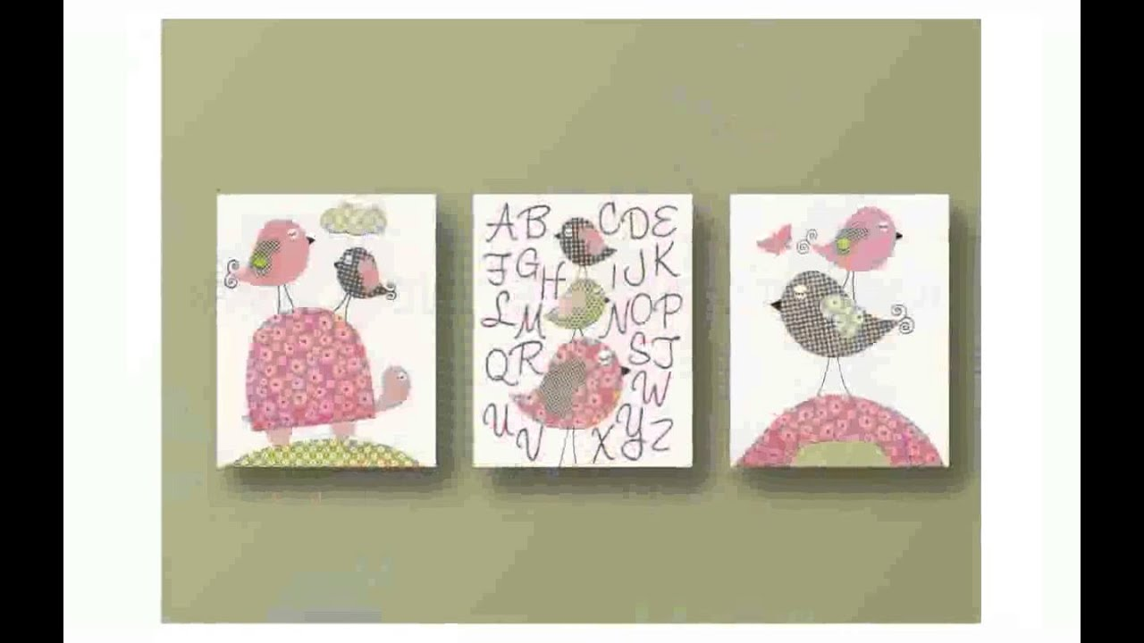 Baby Nursery Wall Decor   YouTube Part 45