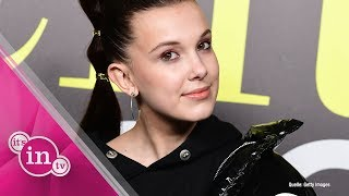 Millie Bobby Brown im Ariana-Grande-Look!