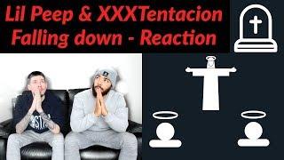 Lil Peep ft XXXTentacion - falling down Reaction